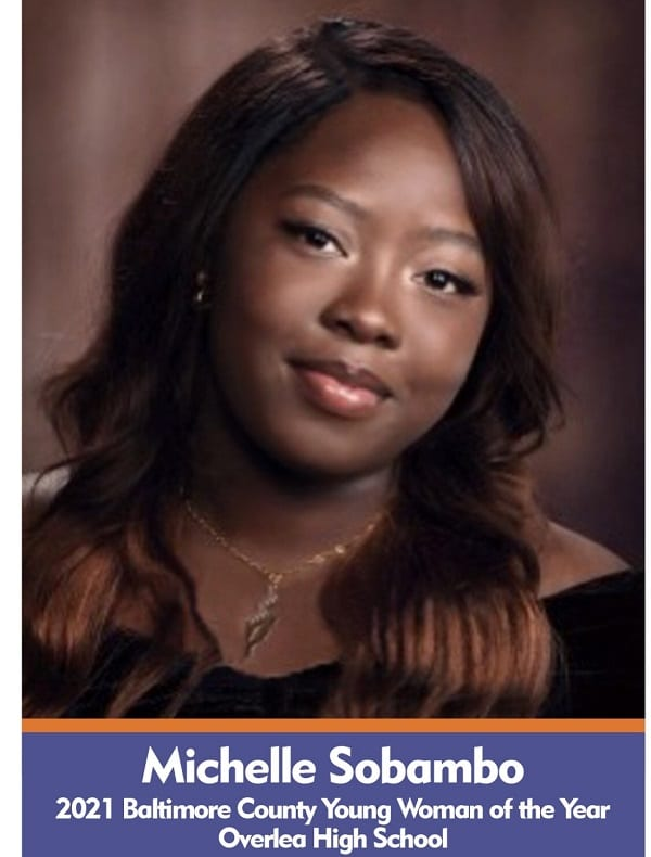Michelle Sobambo Baltimore County 2021 Young Woman of the Year 1