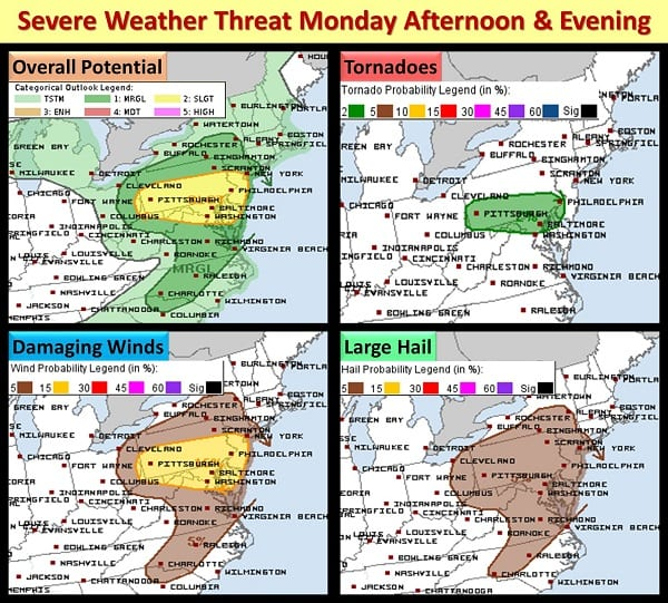 NWS Eastern Storm PotentrIial 20210614