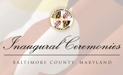 Baltimore County Inaugural Ceremonies 2018