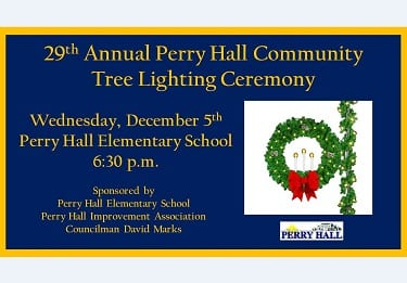 Perry Hall Tree Lighting 2018