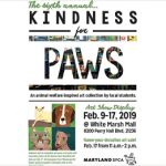 MD SPCA Kindness for Paws 2019