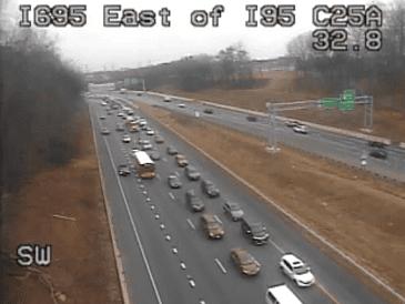 I-695 Crash Baltimore 20190222