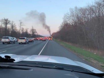 I-95 Vehicle Fire 20190406