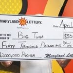 Maryland Lottery Big Tuna Winner