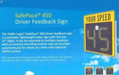 Driver Feedback Sign