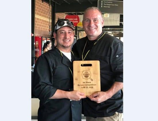 Fallston Barrel House Burger Award