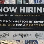 Now Hiring The Avenue 20190821
