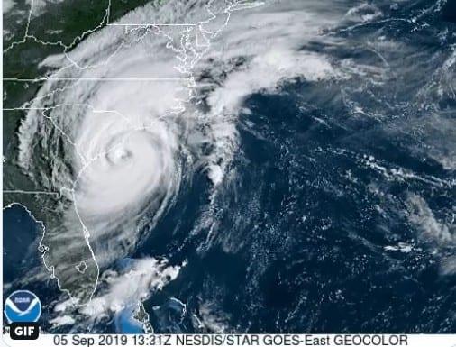 Hurricane Dorian 20190905