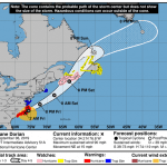 NWS Hurricane Dorian Projected Path 20190906