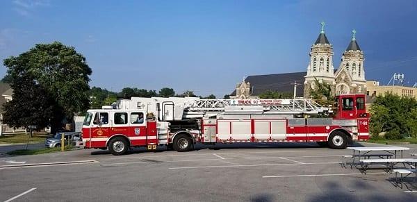 Overlea Fire Engine