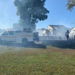 Brush Fire White Marsh 20191014