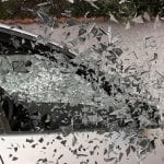 Car Crash Accident Broken Glass