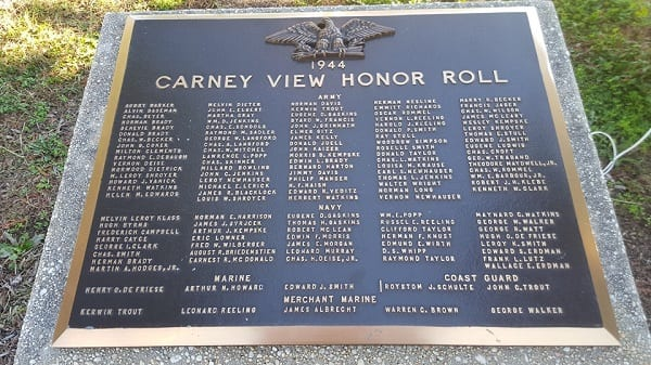 Carney View Honor Roll