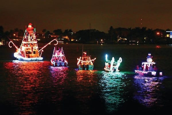 Middle River Lighted Boat Parade