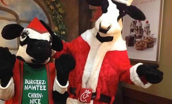 Chick-Fil-A Santa Cow