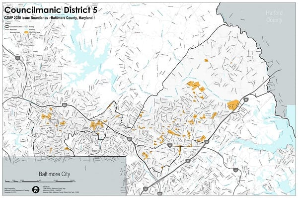 Fifth District Zoning Map 2019-2020