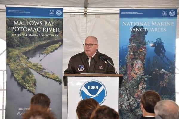Gov Hogan Mallows Bay