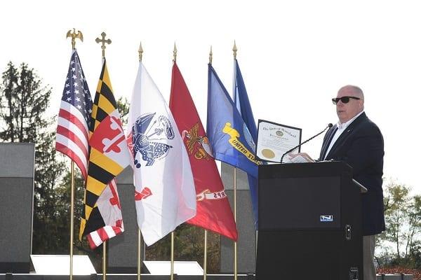 Larry Hogan Veterans Day 2019