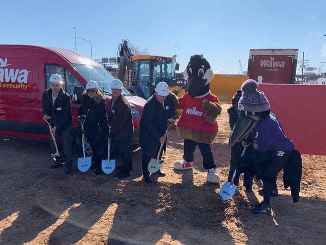 Wawa Maryland Expansion Groundbreaking