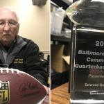 Edward Benesch Ravens Community Quarterback Award