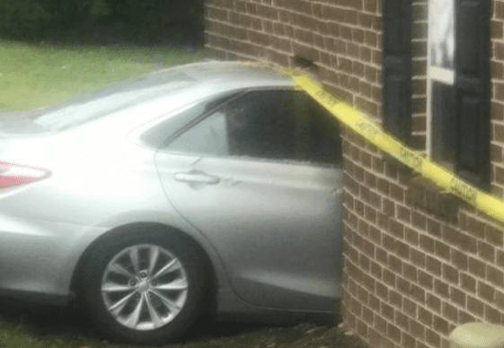 Vehicle Hits Nottingham Home 2019