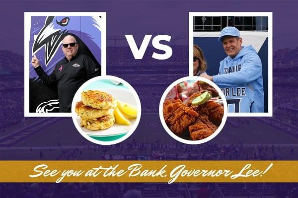 Governor Hogan Ravens Titans Playoffs