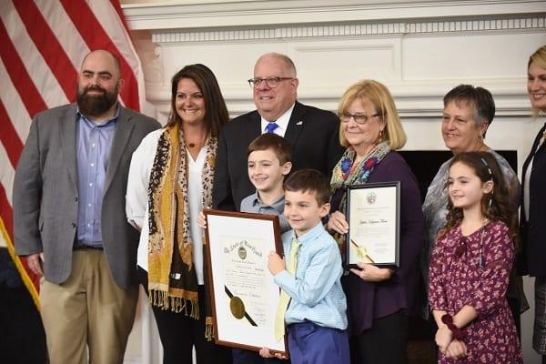 Larry Hogan Farm Families 2020