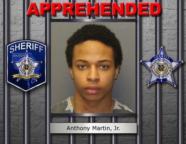 Anthony Martin Arrested