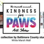Maryland SPCA Kindness for Paws Art Show 2020