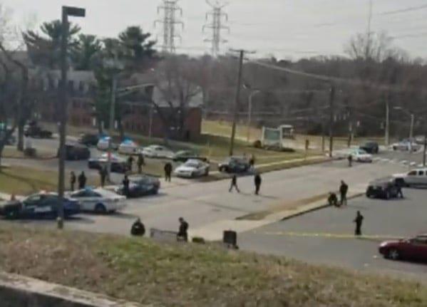 U.S. Marshals Shot in Baltimore