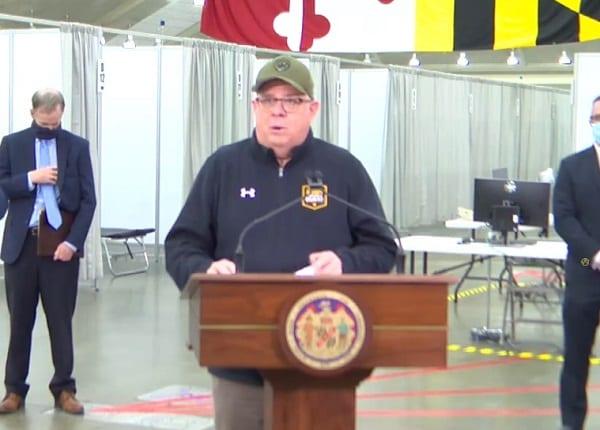 Governor Larry Hogan Baltimore 20200407