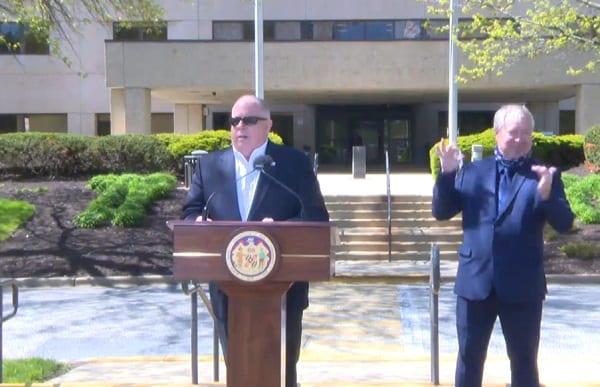 Governor Larry Hogan Update 20200422