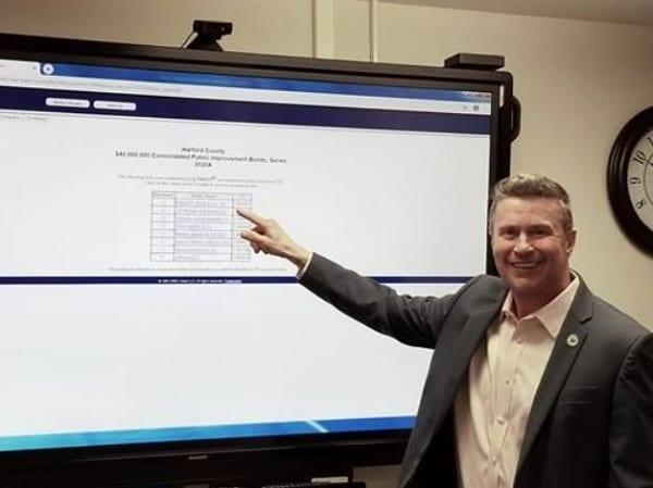 Harford County Barry Glassman Bond Sale 20200428