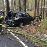 Singer Road Crash 20200424