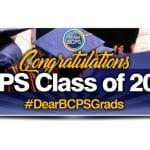 BCPS 2020 Online Graduation Schedule