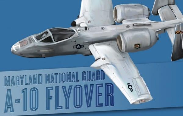 Maryland National Guard Flyover 20200508