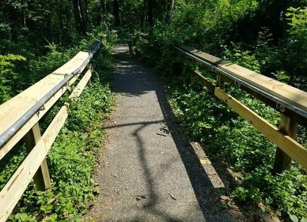 Cowenton Ridge Park Bridge