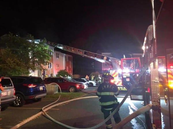 Eloise Lane Apartment Fire JMVFC