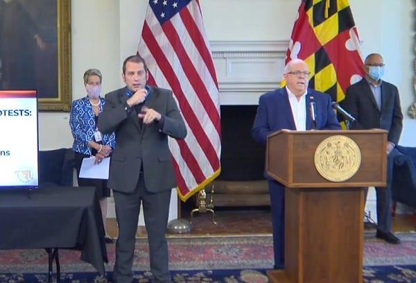 Governor Larry Hogan Maryland Update 20200610