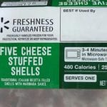 Garland Ventures Five Cheese Stuffed Shells