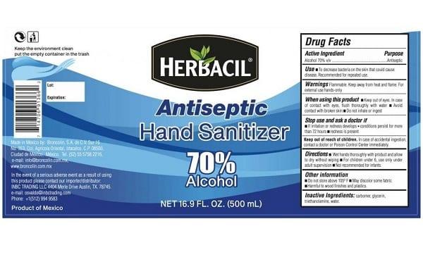 Herbacil Hand Sanitizer