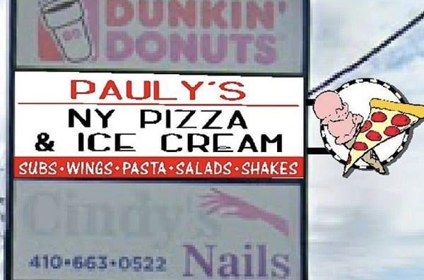 Pauly's NY Pizza Ice Cream Carney