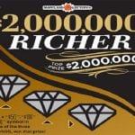 2 Million Dollars Richer Maryland Lottery