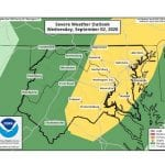 NWS Maryland Storm Forecast 20200902
