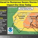 NWS Maryland Storm Probability 20200903