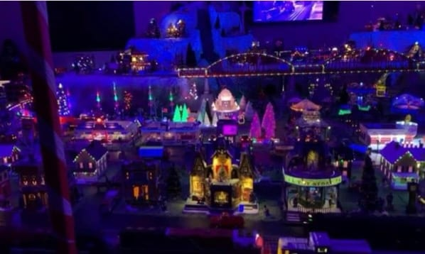 WMVFC Holiday Train Garden