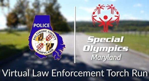 Baltimore County Police Department Special Olympics Maryland Law Enforcement Torch Run