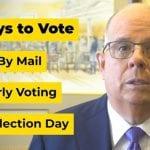 Governor Hogan 2020 General Election 20201012