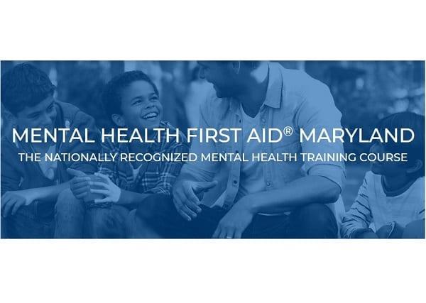 Mental Health FIrst Aid Maryland