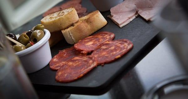 Salami Lunchmeat Platter